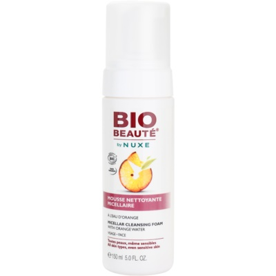 Bio Beauté by Nuxe Cleansing mousse micellaire nettoyante à l'eau d'orange
