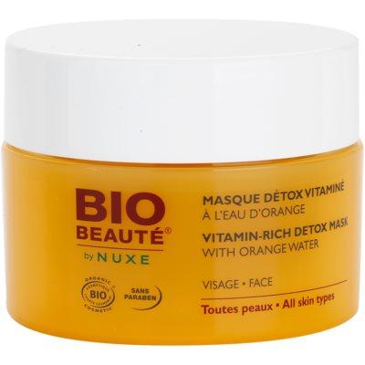 Vitamin-Detox Gesichtsmaske mit Orangenwasser