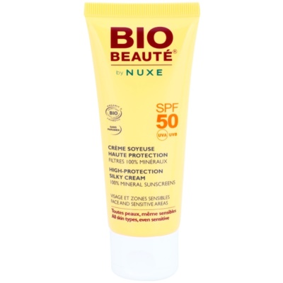 Mineral Protection Cream for Face and Sensitive Areas SPF 50