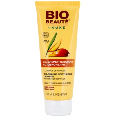 Bio Beauté by Nuxe Sun Care Self-Tanning Moisturising Cream Gel with Mango Extract