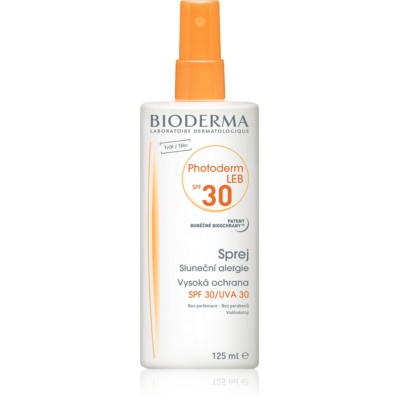 Bioderma Photoderm Sun Spray for Skin Allergic to the Sun SPF 30