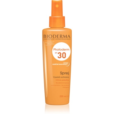 spray abbronzante SPF 30