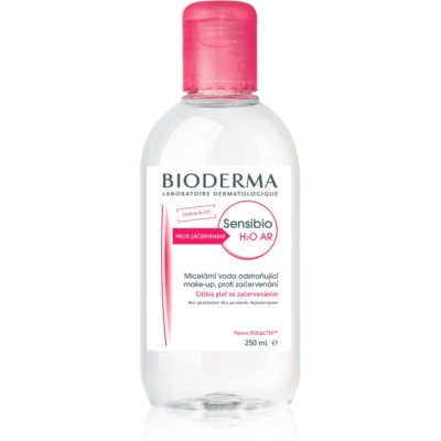Bioderma Sensibio H2O AR micelární voda pro citlivou pleť se sklonem ke zčervenání