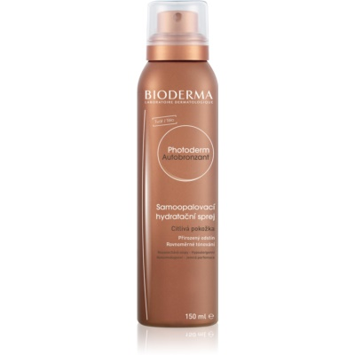 Bioderma Photoderm Autobronzant Self - Tanning Spray For Sensitive Skin