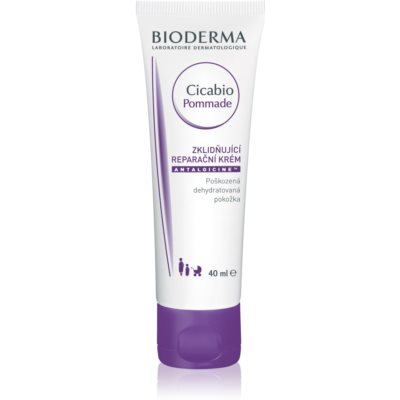 Bioderma Cicabio Pommade Regenerative And Soothing Care For Dehydrated And Damaged Skin