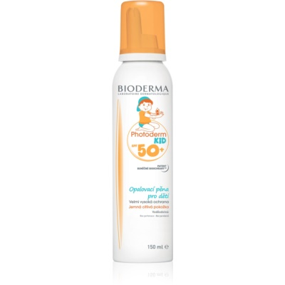 Bioderma Photoderm Kid пяна за слънчеви бани за деца SPF 50+