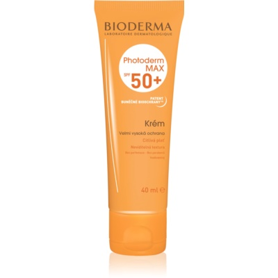 Bioderma Photoderm Max Sun Cream For Intolerant Skin SPF 50+