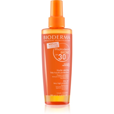Bioderma Photoderm Bronz Protective Dry Oil Spray SPF 30