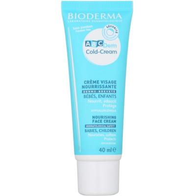 Bioderma ABC Derm Cold-Cream крем-захист для обличчя для дітей