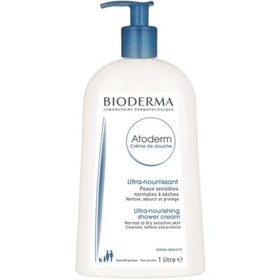Bioderma Atoderm tápláló tusolókrém normáltól száraz és érzékeny bőrre