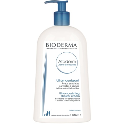 подхранващ душ крем за нормална към суха чувствителна кожа