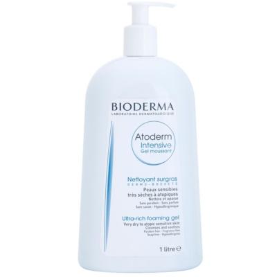 Bioderma Atoderm hranilni penasti gel za zelo občutljivo suho in atopično kožo