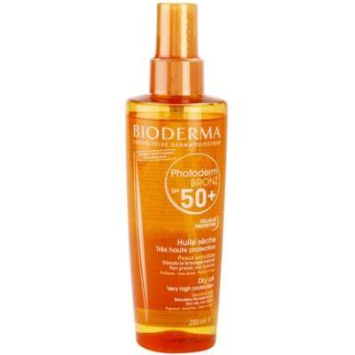 ulei de bronzat pentru piele uscata SPF 50+