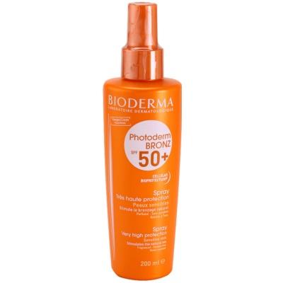spray pentru bronzat SPF 50+