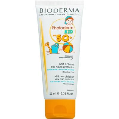 Bioderma Photoderm Kid сонцезахисне молочко для дітей SPF 50+