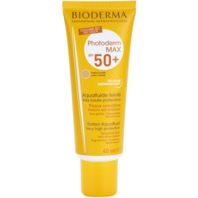 Bioderma Photoderm Max тониращ слънцезащитен флуид SPF 50+