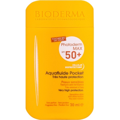 Bioderma Photoderm Max Skyddande matt vätska för ansiktet SPF 50+