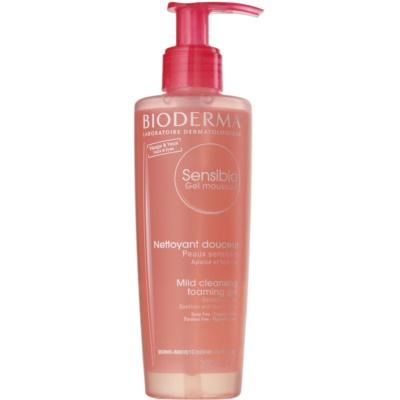 Bioderma Sensibio gyengéd nyugtató tisztító és arclemosó gél