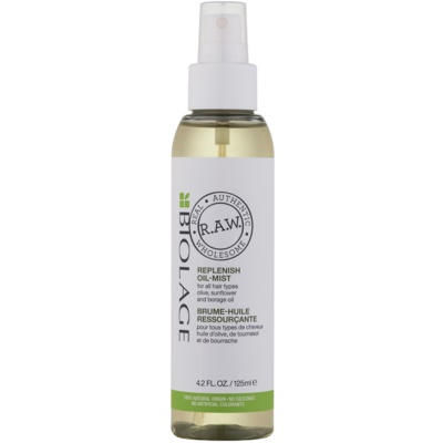 Biolage RAW Replenish зволожуюча та поживна олійка для волосся