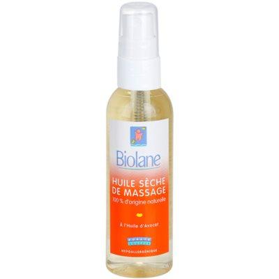 Trockenöl zur Massage