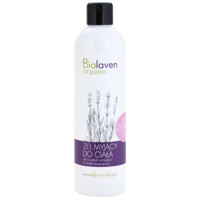 relaxačný sprchový gél s esenciálnymi olejmi