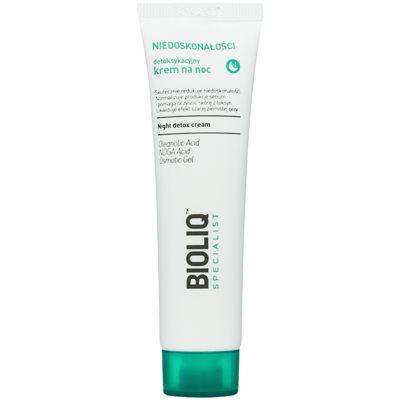 Detoxifying Night Cream With Moisturizing Effect