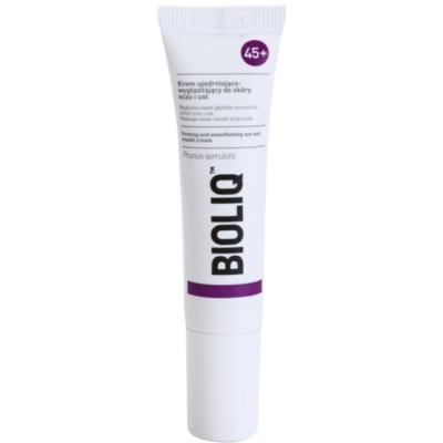 Bioliq 45+ festigende Creme für tiefe Falten an Augen und Lippen