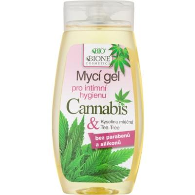 Bione Cosmetics Cannabis gel pro intimní hygienu