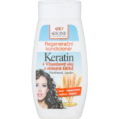 Bione Cosmetics Keratin Grain regenerační kondicionér pro všechny typy vlasů