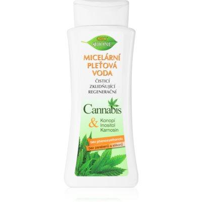 água micelar para limpeza e remoção de maquilhagem