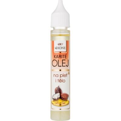 olio di bambù per viso e corpo