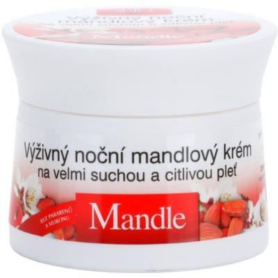 hranilna nočna krema za zelo suho in občutljivo kožo