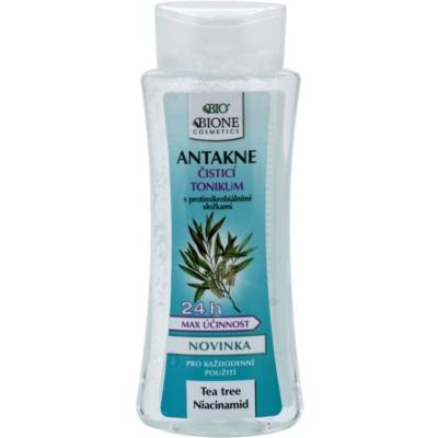 Bione Cosmetics Antakne lotion tonique purifiante pour peaux grasses et à problèmes
