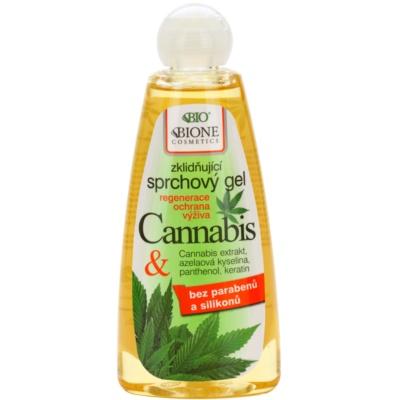 Bione Cosmetics Cannabis gel de douche apaisant