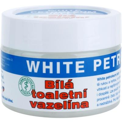 weiße Vaseline
