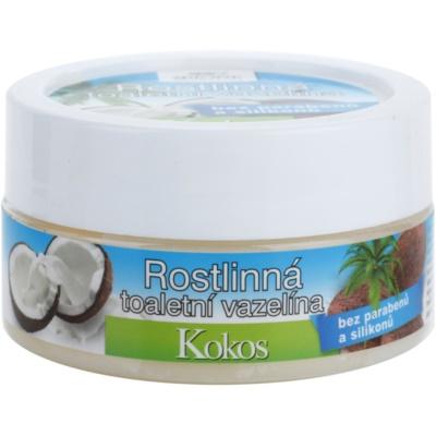 pflanzliche Vaseline mit Kokos