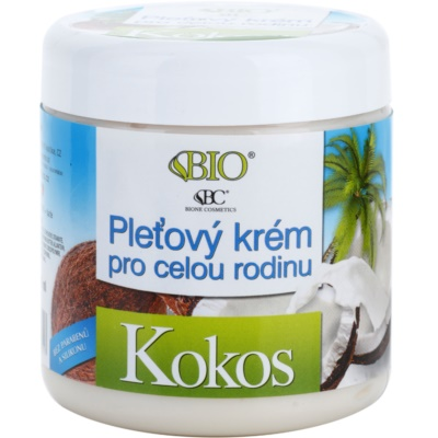 Skin Cream for All Ages With Coconut