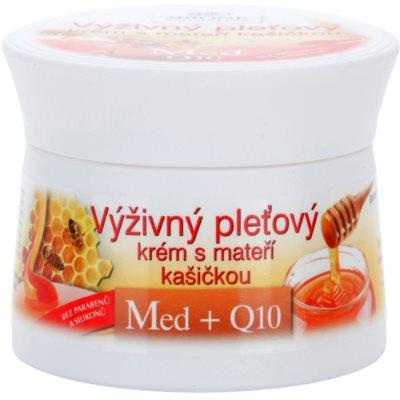 Bione Cosmetics Honey + Q10 tápláló krém méhpempővel