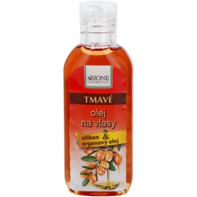 olej pro tmavé odstíny vlasů