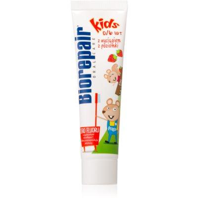 Biorepair Junior Zahnpasta für Kinder mit Erdbeergeschmack