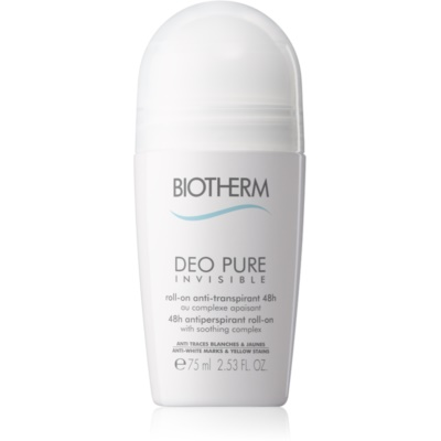 Biotherm Deo Pure Invisible 48h Paraben Free Antiperspirant Roll-On