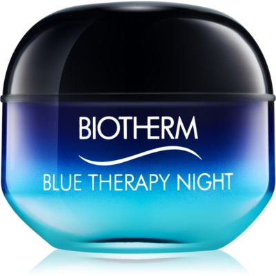 Biotherm Blue Therapy nočný protivráskový krém pre všetky typy pleti