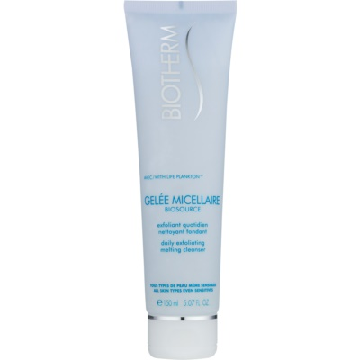 Biotherm Biosource Exfoliating Cleansing Gel Regenerative Effect