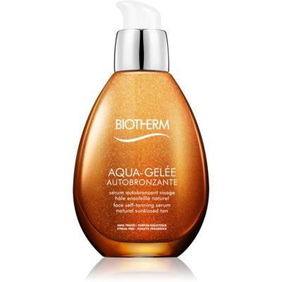 Biotherm Aqua-Gelée Autobronzante samoopaľovacie sérum na tvár