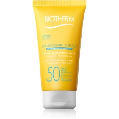 Biotherm Crème Solaire Anti-Âge Antifalten Sonnencreme SPF 50