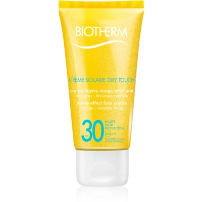 Matte Sunscreen On Your Face SPF 30