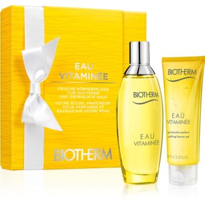 Biotherm Eau Vitaminée Geschenkset II. Eau de Toilette 100 ml + Duschgel 75 ml
