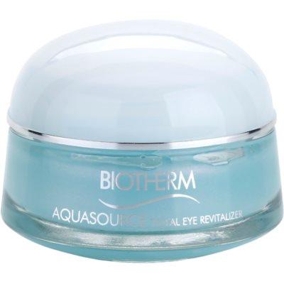 Augenpflege gegen Schwellungen und Augenschatten mit kühlender Wirkung