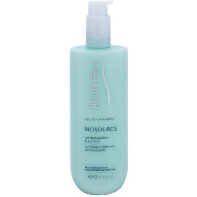 čistilno mleko za odstranjevanje ličil za normalno do mešano kožo