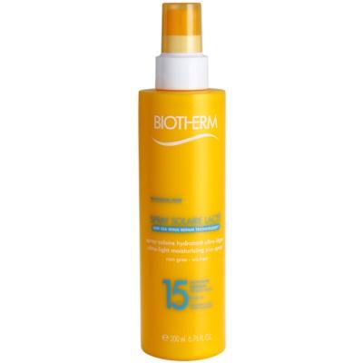 spray nawilżający do opalania SPF 15